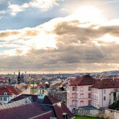 Отель Hoffmeister&Spa Прага балкон