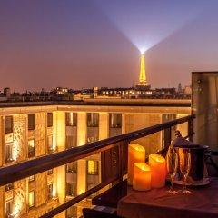 L'Hotel du Collectionneur Arc de Triomphe балкон