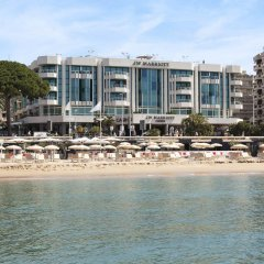 Отель JW Marriott Cannes Франция, Канны - 2 отзыва об отеле, цены и фото номеров - забронировать отель JW Marriott Cannes онлайн пляж