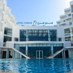 Отель Farah Tanger Марокко, Танжер - отзывы, цены и фото номеров - забронировать отель Farah Tanger онлайн бассейн фото 2