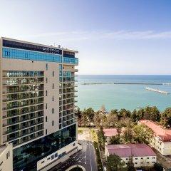 Гостиница Pullman Sochi Centre в Сочи 7 отзывов об отеле, цены и фото номеров - забронировать гостиницу Pullman Sochi Centre онлайн пляж