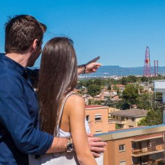 Отель Golden Port Salou & Spa балкон