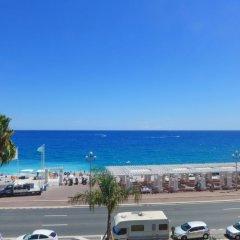 Отель Les Yuccas Promenade des Anglais пляж фото 2
