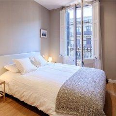 Апартаменты Habitat Apartments Boulevard Барселона комната для гостей