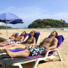 Отель Eden Resort & Spa пляж