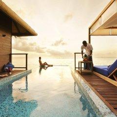 Отель Coco Bodu Hithi Мальдивы, Остров Гасфинолу - отзывы, цены и фото номеров - забронировать отель Coco Bodu Hithi онлайн бассейн фото 3