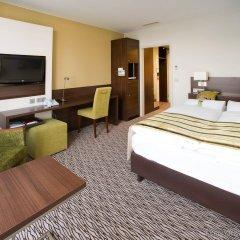 Отель Holiday Inn Munich-Unterhaching Германия, Унтерхахинг - 7 отзывов об отеле, цены и фото номеров - забронировать отель Holiday Inn Munich-Unterhaching онлайн комната для гостей фото 3