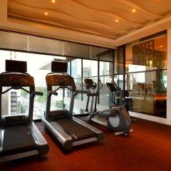 Отель AETAS lumpini фитнесс-зал