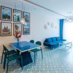 Апартаменты Sunrise Hon Chong Ocean View Apartment Нячанг помещение для мероприятий