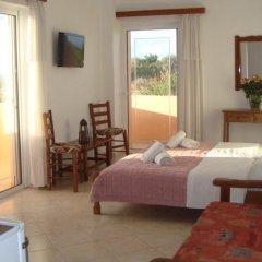Отель Athina Греция, Милопотамос - отзывы, цены и фото номеров - забронировать отель Athina онлайн комната для гостей фото 4