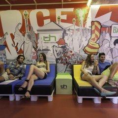 Urbany Hostel Bcn Go! Барселона фитнесс-зал фото 2