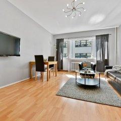 Апартаменты Forenom Serviced Apartments Oslo Rosenborg комната для гостей фото 5
