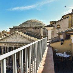 Отель Pantheon View from Terrace Apartment Италия, Рим - отзывы, цены и фото номеров - забронировать отель Pantheon View from Terrace Apartment онлайн балкон