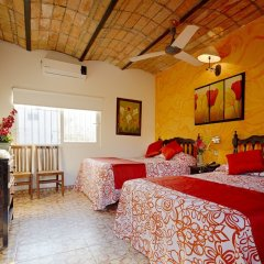 Отель Posada De Roger Пуэрто-Вальярта комната для гостей фото 4
