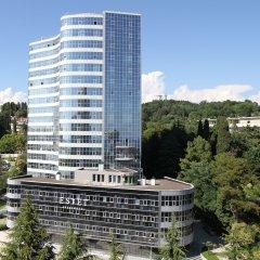 Апарт-Отель Hotelestet Сочи вид на фасад