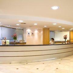 Отель Blaumar Hotel Salou Испания, Салоу - 7 отзывов об отеле, цены и фото номеров - забронировать отель Blaumar Hotel Salou онлайн интерьер отеля