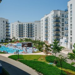 Гостиница Апарт-отель Имеретинский —Прибрежный квартал в Сочи - забронировать гостиницу Апарт-отель Имеретинский —Прибрежный квартал, цены и фото номеров балкон