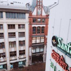 Отель Aikatalo Hostel Helsinki City Center Финляндия, Хельсинки - отзывы, цены и фото номеров - забронировать отель Aikatalo Hostel Helsinki City Center онлайн вид на фасад