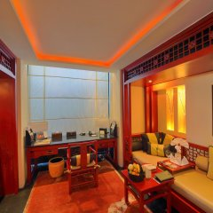 Отель Banyan Tree Lijiang 5* Вилла разные типы кроватей фото 4