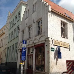 Отель Holiday Home t' Keerske Бельгия, Брюгге - отзывы, цены и фото номеров - забронировать отель Holiday Home t' Keerske онлайн вид на фасад