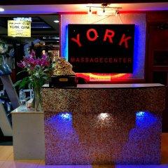 York International Hotel развлечения