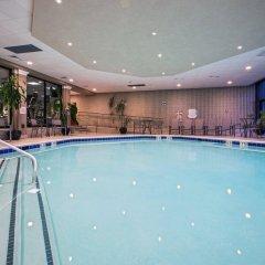 Отель Crowne Plaza Hotel-Newark Airport США, Элизабет - отзывы, цены и фото номеров - забронировать отель Crowne Plaza Hotel-Newark Airport онлайн бассейн