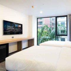 Отель Stay Hotel BKK Таиланд, Бангкок - отзывы, цены и фото номеров - забронировать отель Stay Hotel BKK онлайн комната для гостей фото 2