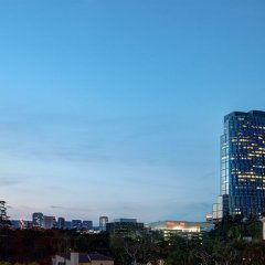 Отель Courtyard Los Angeles Century City Beverly Hills балкон
