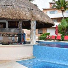 Отель Sunset Fishermen Beach Resort Плая-дель-Кармен бассейн фото 3