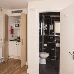 Отель MStay 146 Studios Великобритания, Лондон - 1 отзыв об отеле, цены и фото номеров - забронировать отель MStay 146 Studios онлайн ванная