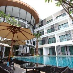 Отель The Pago Design Hotel Phuket Таиланд, Пхукет - отзывы, цены и фото номеров - забронировать отель The Pago Design Hotel Phuket онлайн бассейн фото 2