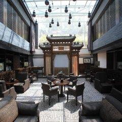 Отель Shichahai Shadow Art Performance Пекин гостиничный бар
