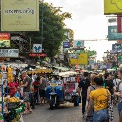Отель Sawasdee Bangkok Inn городской автобус