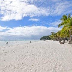 Отель Azul Boracay Pension House Филиппины, остров Боракай - отзывы, цены и фото номеров - забронировать отель Azul Boracay Pension House онлайн пляж фото 2