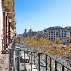 Отель Sixtyfour Испания, Барселона - отзывы, цены и фото номеров - забронировать отель Sixtyfour онлайн балкон фото 2