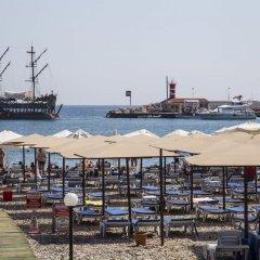 Botanik Felizya Hotel пляж фото 2