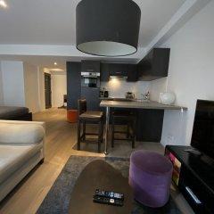 Отель Flat Brugmann Бельгия, Брюссель - отзывы, цены и фото номеров - забронировать отель Flat Brugmann онлайн комната для гостей фото 5