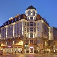 Dw Piast Hostel Вроцлав вид на фасад