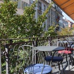 Hotel du Theatre by Fassbind Цюрих балкон
