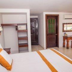 Отель Sol Caribe Sea Flower Колумбия, Сан-Андрес - отзывы, цены и фото номеров - забронировать отель Sol Caribe Sea Flower онлайн сейф в номере