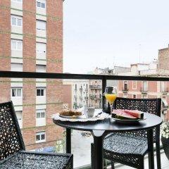 Отель Lugaris Rambla Барселона балкон