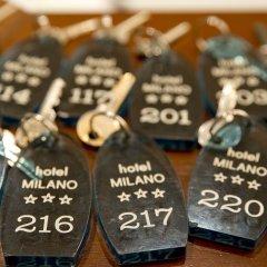 Hotel Milano Гаттео-а-Маре фитнесс-зал