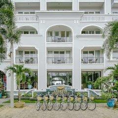 Отель Lasenta Boutique Hotel Hoian Вьетнам, Хойан - отзывы, цены и фото номеров - забронировать отель Lasenta Boutique Hotel Hoian онлайн спортивное сооружение