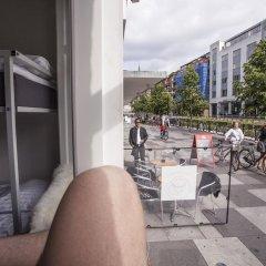 Отель SimpleBed Hostel Дания, Орхус - отзывы, цены и фото номеров - забронировать отель SimpleBed Hostel онлайн балкон