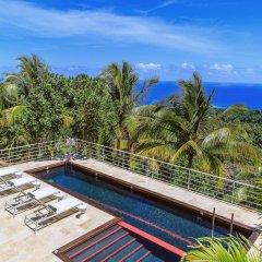 Отель Cocosan Villa бассейн