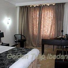 Отель Golden Tulip Ibadan Нигерия, Ибадан - отзывы, цены и фото номеров - забронировать отель Golden Tulip Ibadan онлайн комната для гостей фото 5
