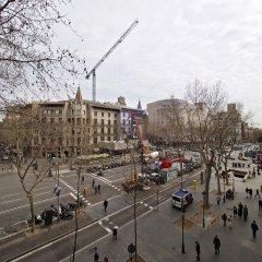 Отель Ático En Paseo De Gracia Барселона балкон
