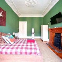 Апартаменты Gorgeous Light Apartment In West End Глазго комната для гостей фото 2