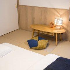 Musubi Hotel Machiya Kiyokawa 1 Фукуока комната для гостей