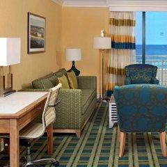 Sheraton Virginia Beach Oceanfront Hotel комната для гостей